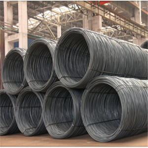 Metal Hot Rolled q195 10mm Sae1008 Steel Wire Rod