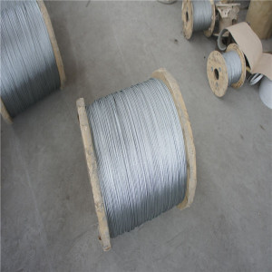 Galvanized Steel Wire Rope/Gi Wire/Galvanized Binding Wire