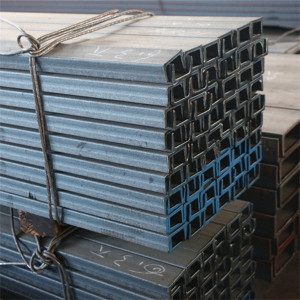channel u and c type steel iron bars
