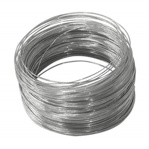 Electro galvanized banding/baling iron wire