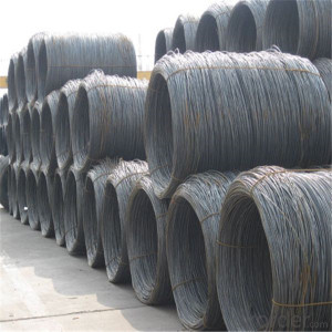 Prime Quality Building Iron Rod Hard Drawn Mild Steel Coil Wire Rod price Nails Steel Wire(Q195,Q235)