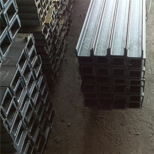 Factory direct supply metal u channel sizes sheet metal channel c channel iron