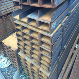 Hot rolled iron 100*50 steel channel c type u type for construction