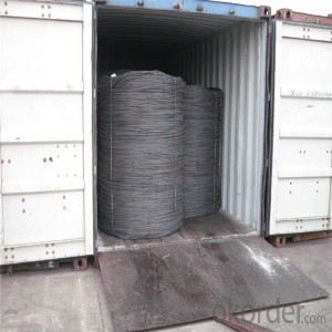 6mm wire rod coil / hot rolled steel wire rod in coils / wire rod coil