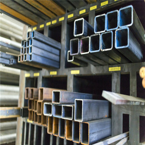 Structural Hollow Sections black Square Steel Pipe from Manufacturer