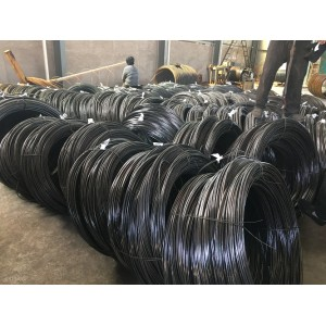 Yan steel-low carbon wire rod steel coil hot rolled steel wire rod in coils