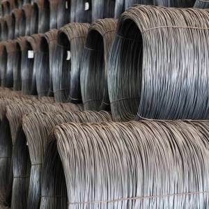 Yan steel-low carbon wire rod steel coil hot rolled steel wire rod in coils