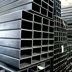 Hot Rolled Black Welded Square Structural Pipe Hollow Section Shape Steel Pipe