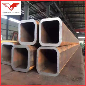 ASTM A500 customizable thickness seamless steel square pipe