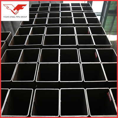 ASTM A500 200 x 200 mm B.I.galvanized weld square tube