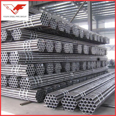 BS1387, BS1139, EN39, EN10219ASTM A53 GR.B ERW STEEL PIPE FACTORY