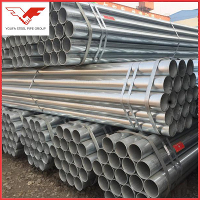 Mudium grade hot dipped galvanized steel pipe/ water pipe & structure pipe