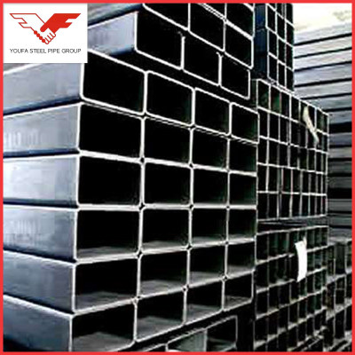 Rectangular  Shape Galvanized Hollow Steel Pipe