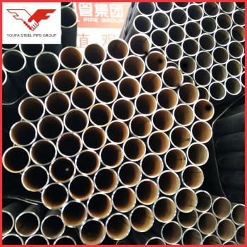 ASTM, BS, GB, JIS Q195 Q235 Q345 Astm Carbon Erw Steel Tube
