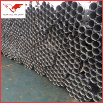 ASTM A795 galvanized grooved end round steel pipe tube