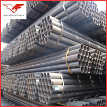 Q195 Q235 Q345 ASTM, BS, GB, JIS  factory supply ERW Steel pipe