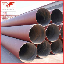 API 5L, GB/T9711 Anti rust oiled  Galvanized Spiral steel pipe