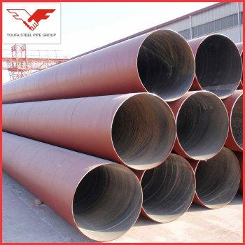 API 5L, GB/T9711 Anti rust oiled  Galvanized Spiral steel pipe