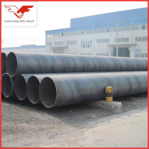 219mm-2500mm SSAW   ASTM A252  Spiral Steel Pipe   for Oil transfer