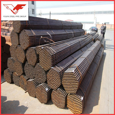 ERW carbon steel pipe tube for fuild pipe,structural pipe,oil&gas pipe