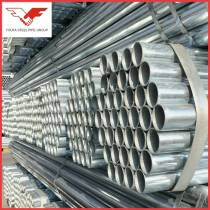 300g/m2 GB/T standard Hot dipped galvanized  steel pipe for water transport, construction, scaffolding