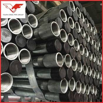 Q195, Q235, Q345 BS1387  galvanized threaded pipe with pipe fittings
