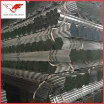 Q195, Q235, Q345 GB/T 3091 Hot dip galvanized erw steel pipe