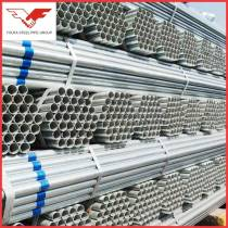 zinc coating hot dip galvanized steel pipe with blue stip