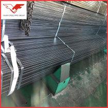 Bare,oiled,galvanized ASTM A500 ms rectangular steel tube