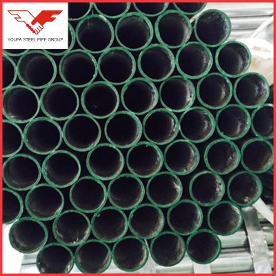 ASTM A53, BS1387, BS1139, EN39, EN10219 ERW galvanized steel pipe