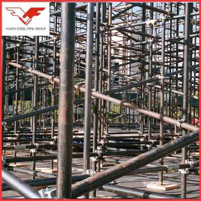 Temporary platform used  Scaffolding Steel Pipe