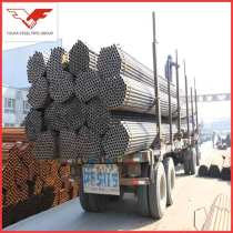 ASTM A53 grade B ERW Steel pipe  Factory