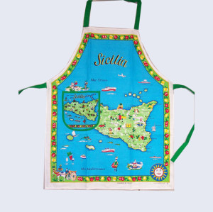 Fashion durable cotton fabric bib apron