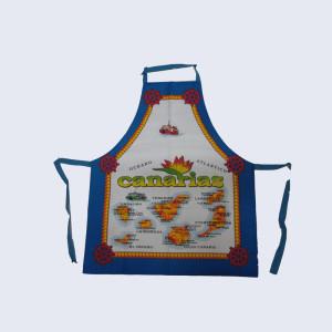 Durable cotton printing kitchen apron