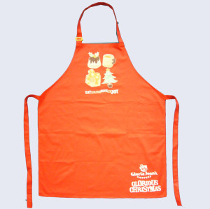 Recycle creative printing cotton apron