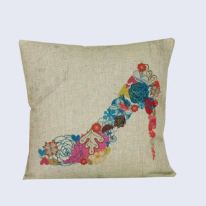 Home comfort reusable printing design cushion cover
