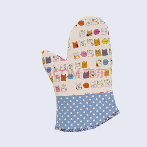China supplier heat resistant oven mitt
