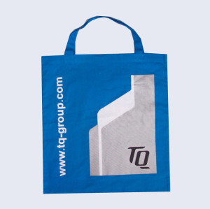 High quality popular printed logo cotton bag