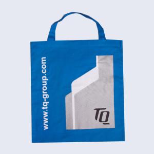 High quality popular printed logo cotton bag
