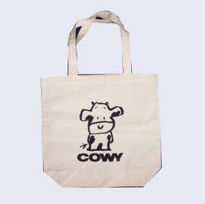 Advertising good quality gift printed shopping bag