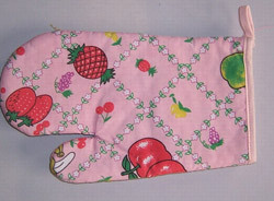 Wholesale direct from China microwave printed oven mitt