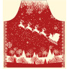 Submarine style apron & customized printed apron