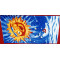 Professional direct factory custom waffle beach towel
