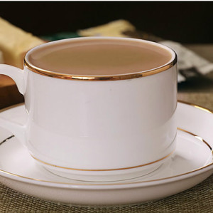 European style bone china coffee cup