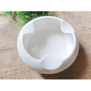 Bone china white Creative ashtray