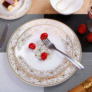 欧式西式牛排餐盘,餐盘