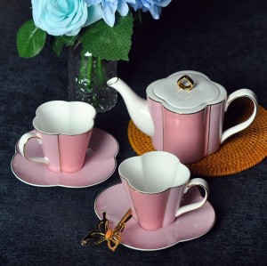 Bone china Pot Set, European Coffee Cup Set