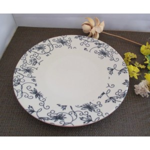 Porcelain tableware creative dinner plate