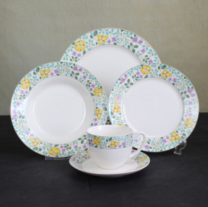 Porcelain,new design colorful decor ceramic