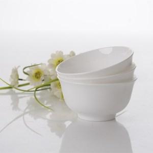 定制的白骨瓷碗饭